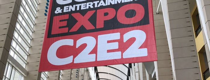 Chicago Comic & Entertainment Expo C2E2 is one of Tempat yang Disukai Dirk.
