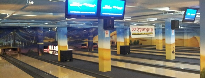Bowling im Rollpalast is one of Badge List.