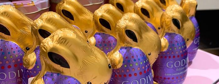 Godiva Chocolatier is one of Locais curtidos por D.