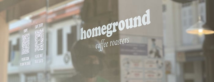 Homeground Coffee Roasters is one of Best Expresso In Singapore #coffee.