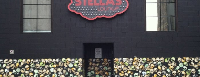 Stella's Lounge is one of 55 Bars Filled With Single Ladies.