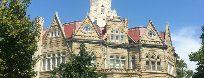 Pike County Courthouse is one of Illinois's Greatest Places AIA.
