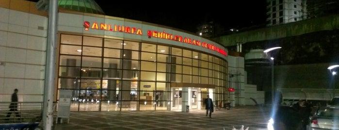 Şanlıurfa Şehirler Arası Otobüs Terminali is one of Gizemli'nin Kaydettiği Mekanlar.