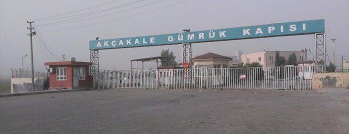 Akçakale Sınır Kapısı is one of Tempat yang Disukai 🇹🇷.