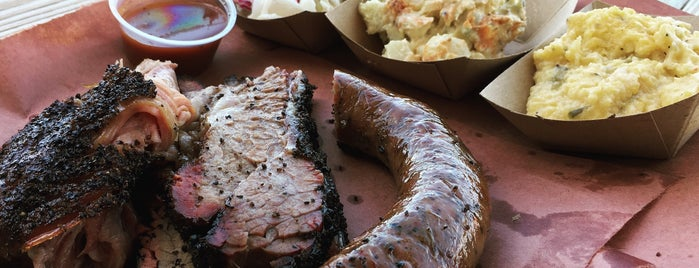 Evie Mae's Pit Barbecue is one of Texas Monthly's Top 50 BBQ Joints in Texas.