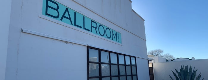 Ballroom Marfa is one of Marfa.