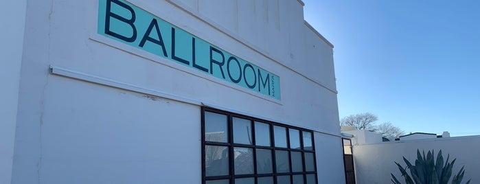 Ballroom Marfa is one of Marfa/Carlsbad/Santa fe.