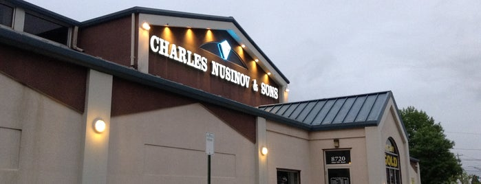Charles Nusinov & Sons Jewelers is one of Katie 님이 저장한 장소.