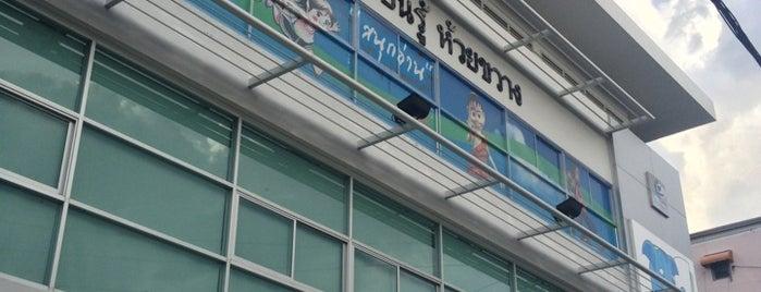 Bangkok Discovery Learning Library is one of ห้องสมุดเพื่อการเรียนรู้ กรุงเทพมหานคร.
