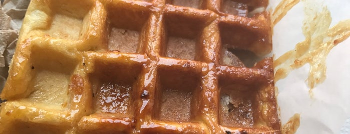 Waffle Cabin is one of South Slope Staycation.