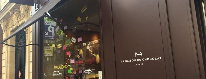 La Maison du Chocolat is one of Paris.