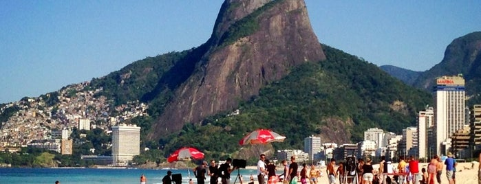 Praia de Ipanema is one of World Heritage Sites List.