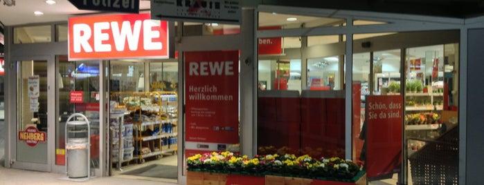 REWE is one of Karl : понравившиеся места.