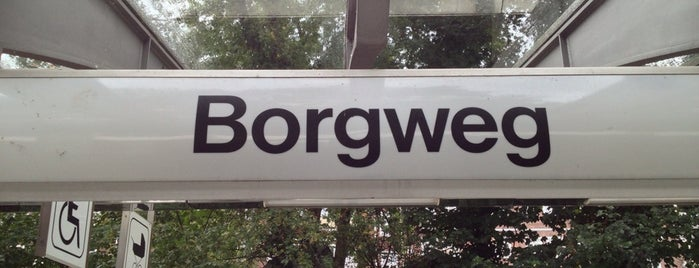 U Borgweg is one of Alles in Hamburg.