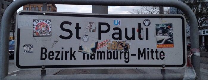 St. Pauli is one of Hamburg 2014.