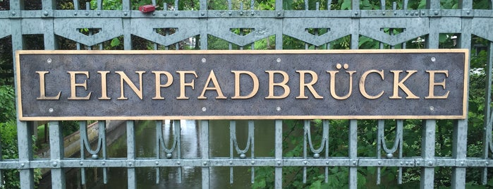 Leinpfadbrücke is one of Alles in Hamburg.