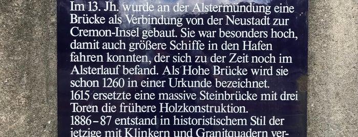 Hohe Brücke is one of Locais curtidos por Karl.