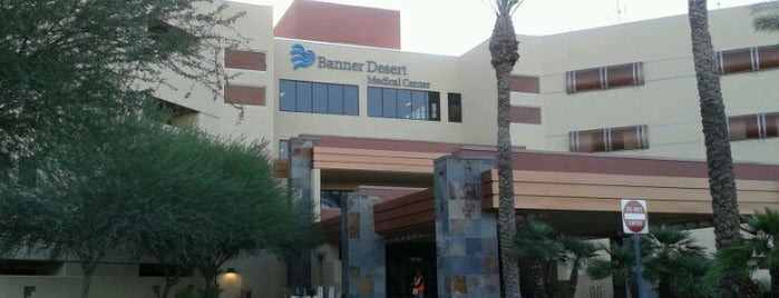 Banner Desert Medical Center is one of Tempat yang Disukai Bob.
