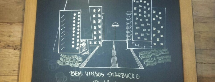Starbucks is one of Lieux qui ont plu à Leandro.