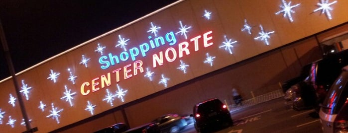 Shopping Center Norte is one of Sergio M. 🇲🇽🇧🇷🇱🇷'ın Beğendiği Mekanlar.