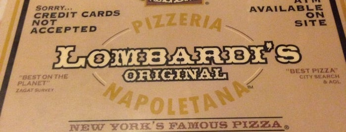 Lombardi's Coal Oven Pizza is one of NEW YORK CITY : Manhattan in 10 days! #NYC enjoy.