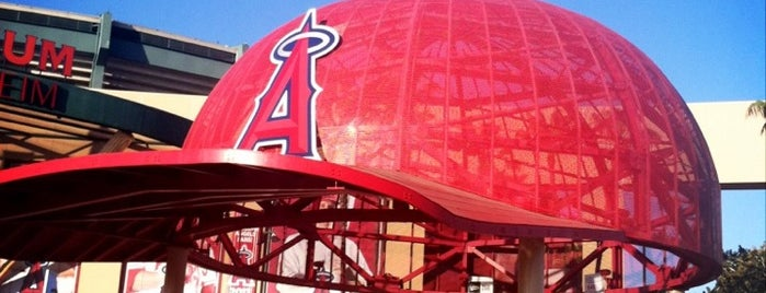 Angel Stadium of Anaheim is one of MLB Ballparks.