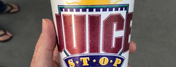 Juice Stop is one of favorite spots.