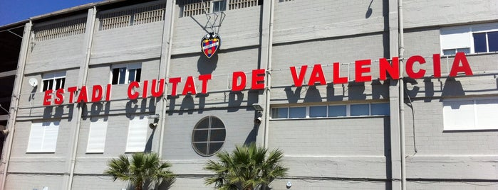 Estadi Ciutat de València is one of La Liga BBVA Stadium 2013-14.