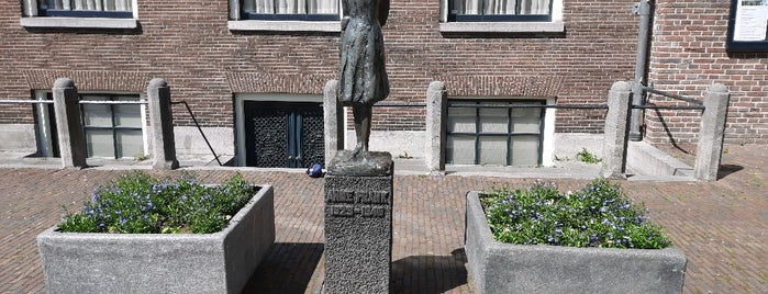 Beeld Anne Frank is one of Best of Amsterdam.