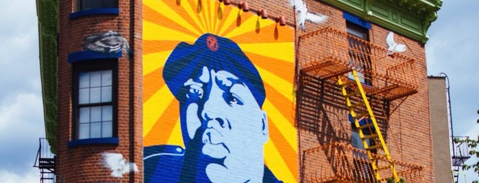 Biggie Smalls Mural is one of NYC.