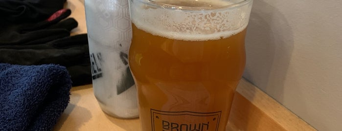 Brown Iron Brewhouse is one of Michigan Breweries.