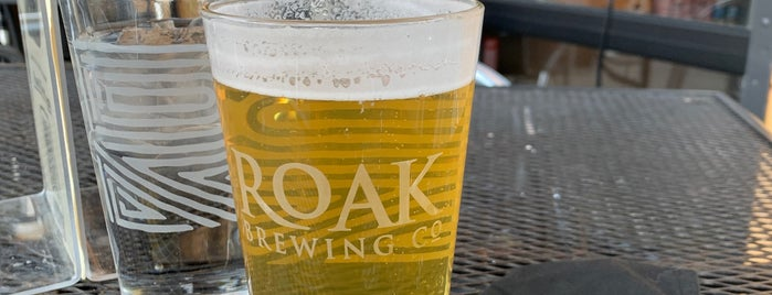 Roak Brewing Co. is one of Breweries.