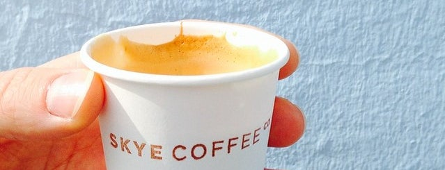 SKYE Coffee Co. is one of Barcelona.