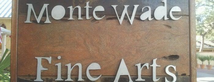 Monte Wade Fine Art Gallery is one of San Antonio-Art Galleries.