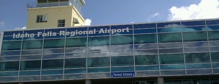 Idaho Falls Regional Airport (IDA) is one of US Airports 2.