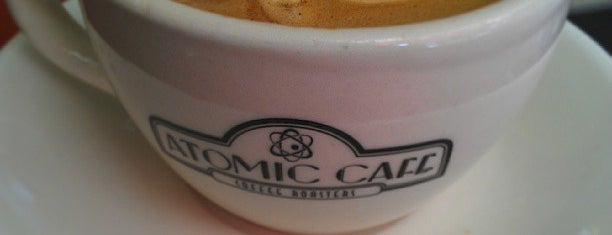 Atomic Café is one of Coffee & Bakeries ☕️🥐.