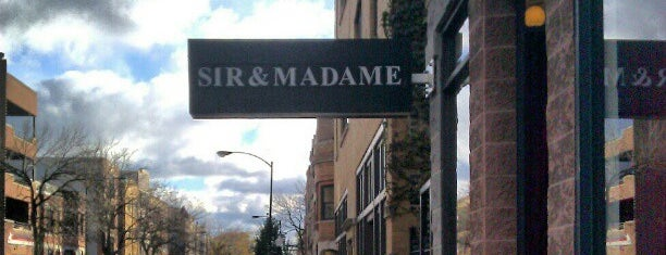 Sir & Madame Clothing is one of บันทึกเดินทาง Chicago, IL (#259).