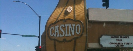 The Carson Nugget is one of Gamblin' Joints.