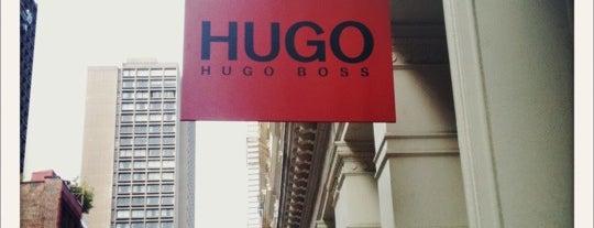 HUGO Store is one of สถานที่ที่บันทึกไว้ของ Susan.