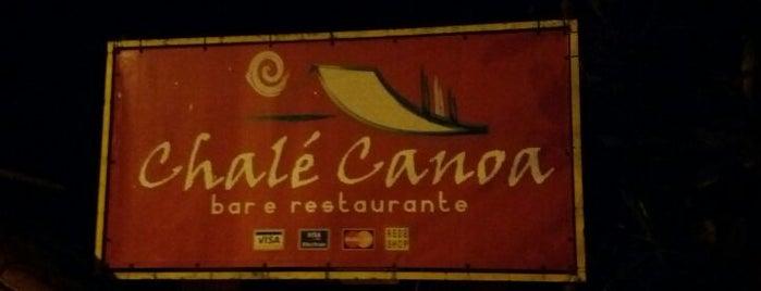 Chalé Canoa Bar e Restaurante is one of สถานที่ที่ Mayara ถูกใจ.