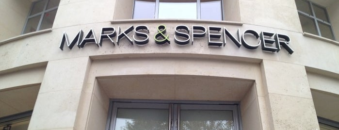 Marks & Spencer is one of Esra 님이 좋아한 장소.