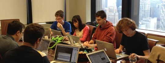 Foursquare HQ Midtown (temp location, #Sandy) is one of ww.