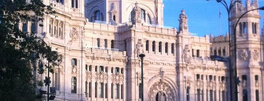 Plaza de Cibeles is one of The Best Of Madrid.