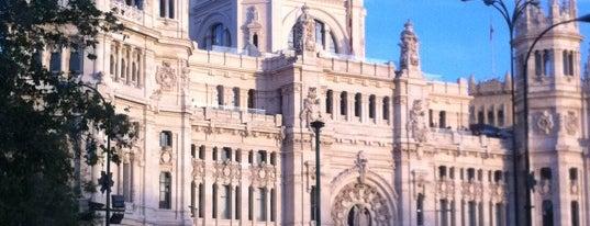 ปลาซาเดซีเบเลส is one of The Best Of Madrid.