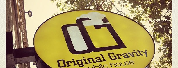 Original Gravity Public House is one of SF Bars.