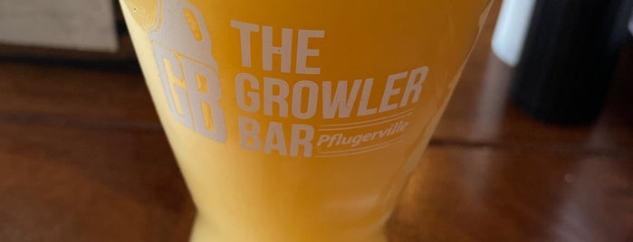 The Growler Bar is one of Josh 님이 좋아한 장소.