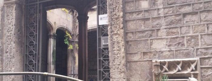 Arxiu Històric de la Ciutat de Barcelona is one of La Nit dels Museus 2013.