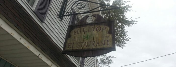 Hilltop restaurant is one of West to East XC trip.