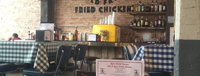 Gus's World Famous Fried Chicken is one of Eats.