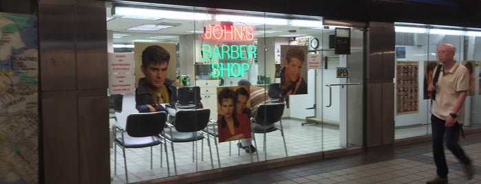 John's Barber Shop is one of Gone But Not Forgotten....